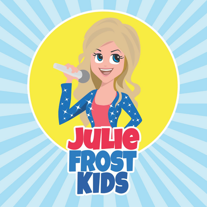 julie frost kids kid save the world podcast music disney songs educational