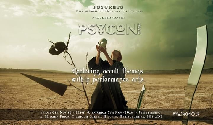 PSYCRETS are proud to sponsor PSYCON 2020