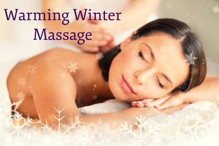 Hills Osteopaths. Warming Winter Massage offer