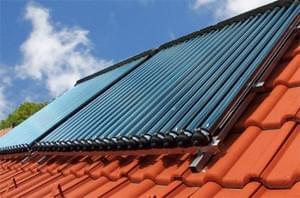 Solar thermal panels. solar water heating systems