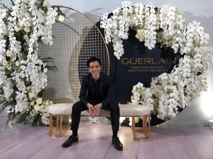 Jasper Lee Roving Magic Guerlain Dinner Event @ Marriot Bangkok