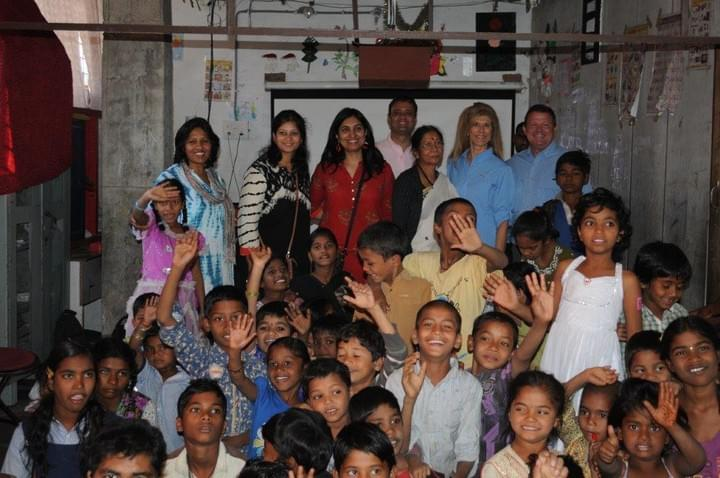 Mark & Trina Ramsey Foundation visits Kadam School in India