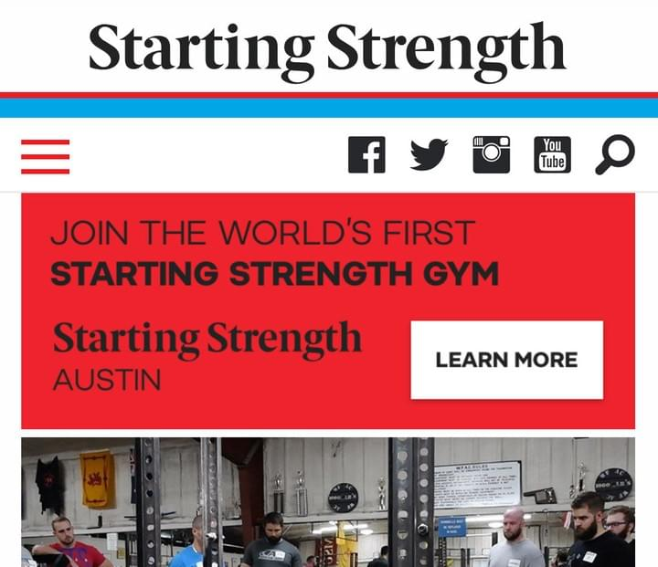Starting Strength Gym Ownership