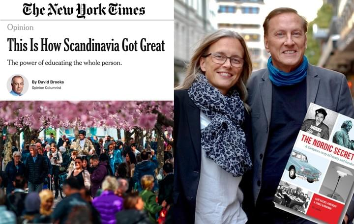 Tomas Björkman, The Nordic Secret, The New York Times