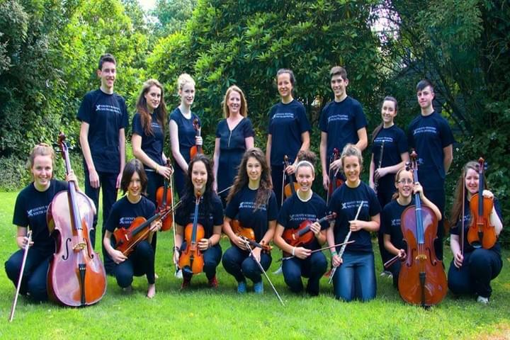 Wexford School of Music, string orchestra, strings, groups, orchestras, ensembles