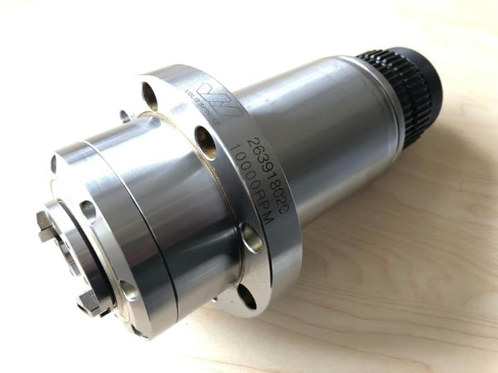 Spindle - 24,000 rpm ER16