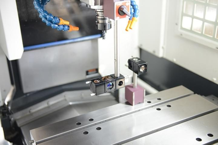 small cnc tapping center