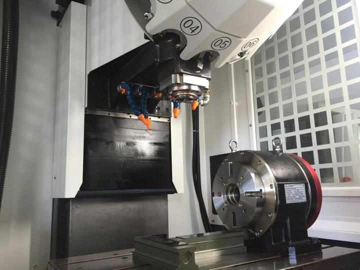 compact cnc tapping center