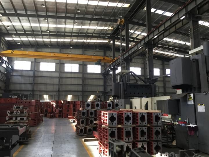 VMC Factory China CNC
