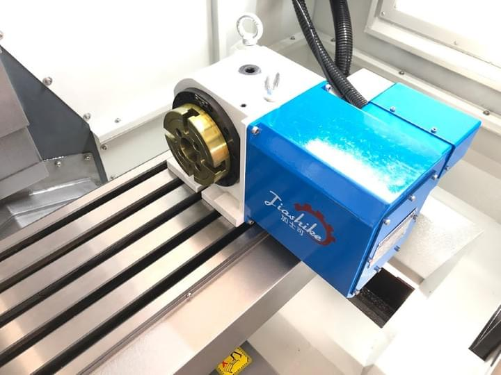 NC rotary table servo