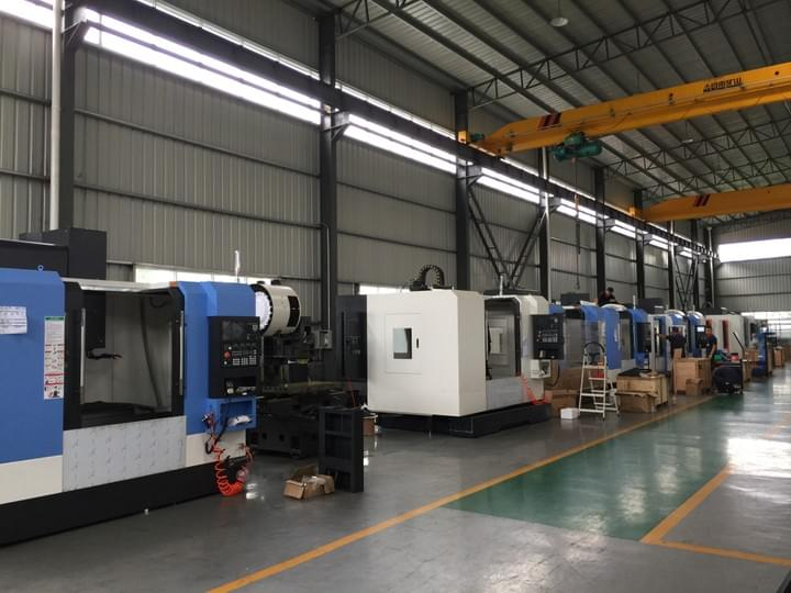 Vertical CNC Machine Center