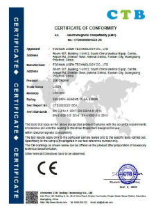 CE Certificated Laser Slat cleaner