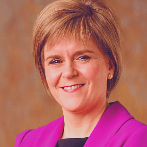 Nicolas Sturgeon, First Minister, Scottish Government