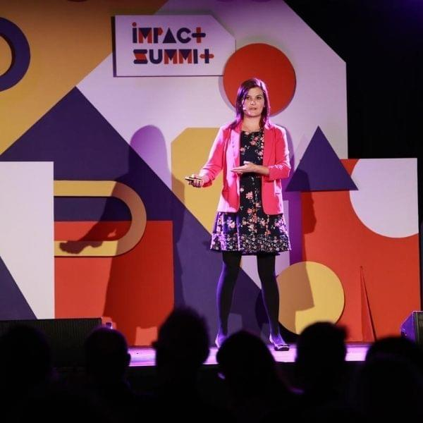 April Wensel at Impact Summit 2019