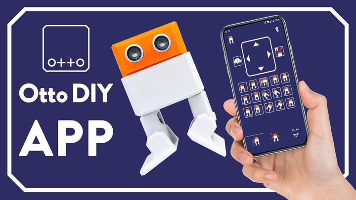 Otto DIY APP Android IOS Bluetooth