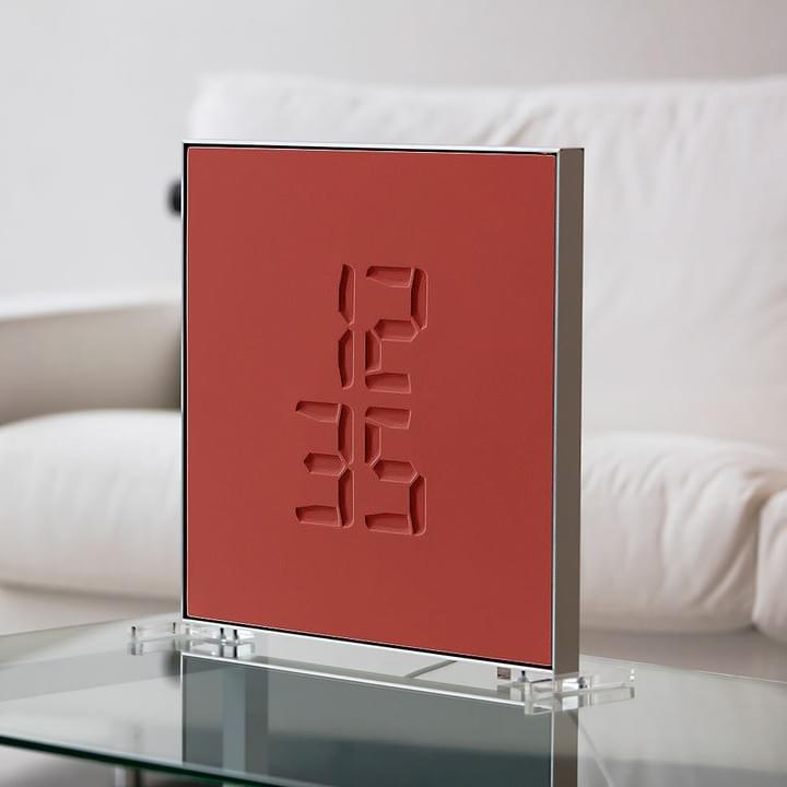 etch Clock RED Version