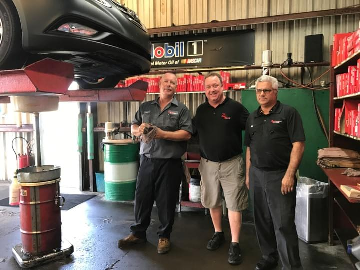 oil change team staff sarasota