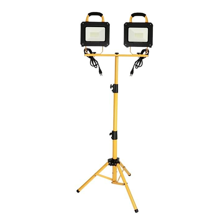 Double head tripod led work light