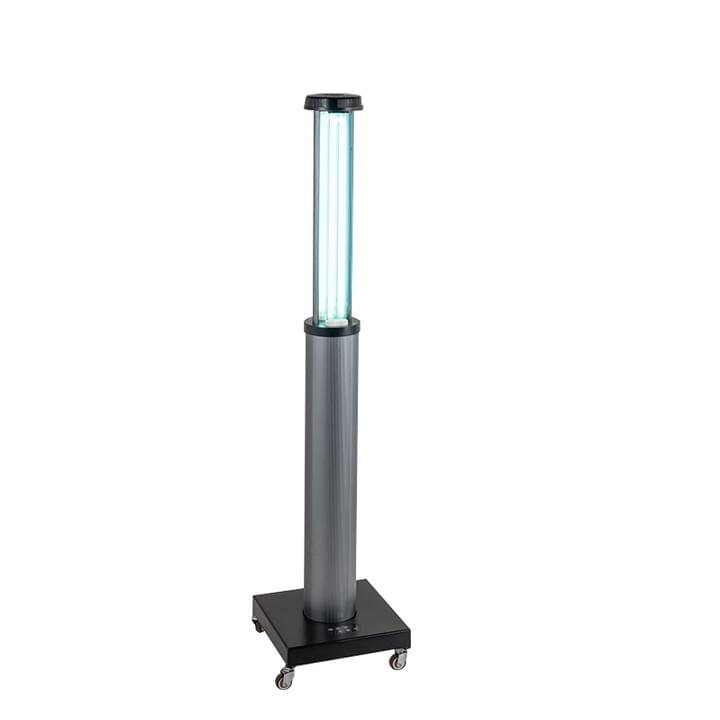 Flexible 253.7nm UVC trolley disinfection lamp