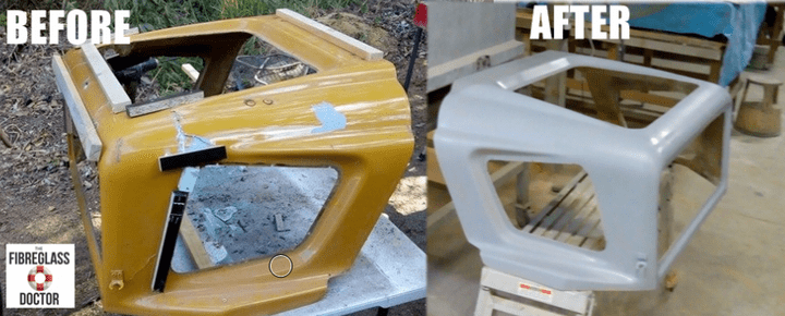 Bobcat Fibreglass Repair Sunshine Coast