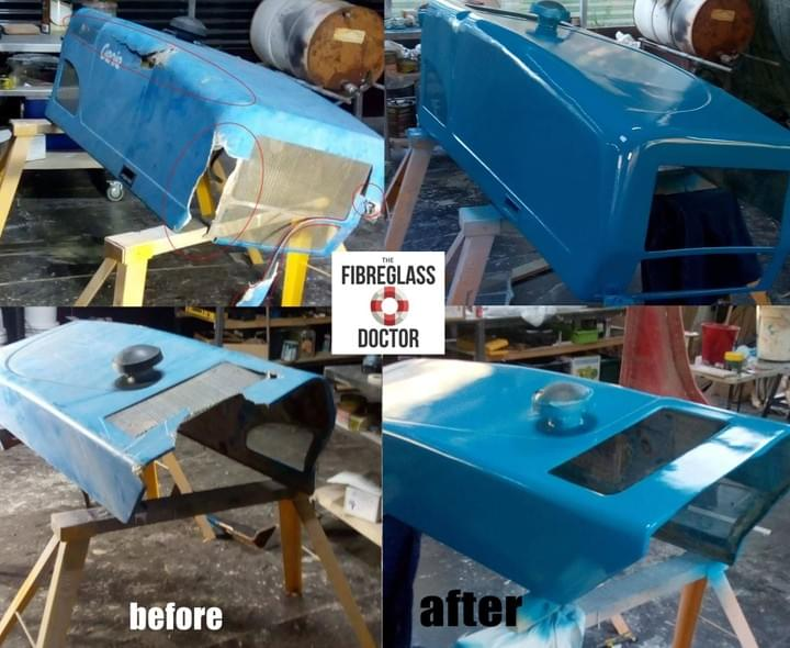Fibreglass Bob Cat Repair