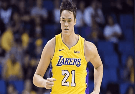 Steven Zimmerman Los Angeles Lakers