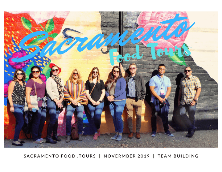 midtown sacramento arts & food tour, Team Building
