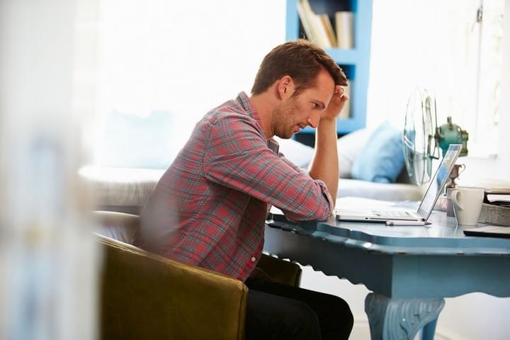 Image Of Stressed Man