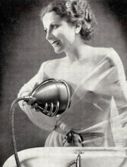 Vintage Breast Washer Ad
