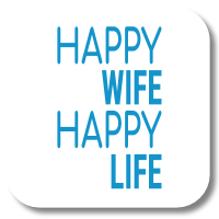 Jiftip | HAPPY WIFE - HAPPY LIFE
