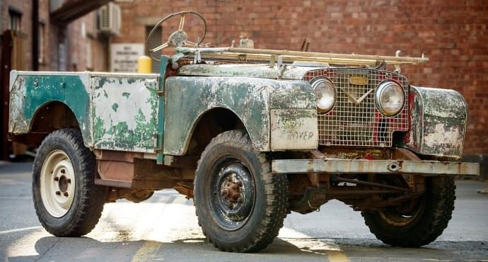 Land Rover Series 1 restorations