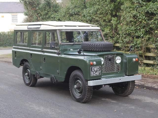 Land Rover Series 2a Restorations