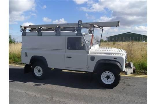 Utility Pick up and Land Rover Defender Utility Restoration