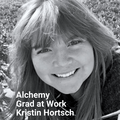 Alchemy Grad at Work Kristin Hortsch