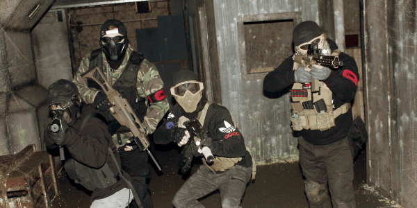 Airsoft Skirmishes in London