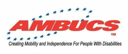 AMBUCS logo and the link for the website