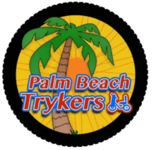 Palm Beach logo and the link for the home page