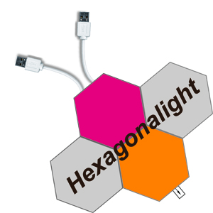 Hexagonalight LED light