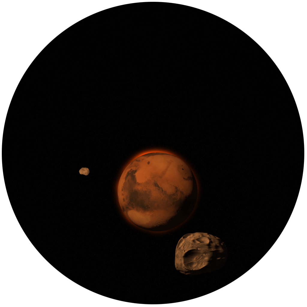 Mars and Moons
