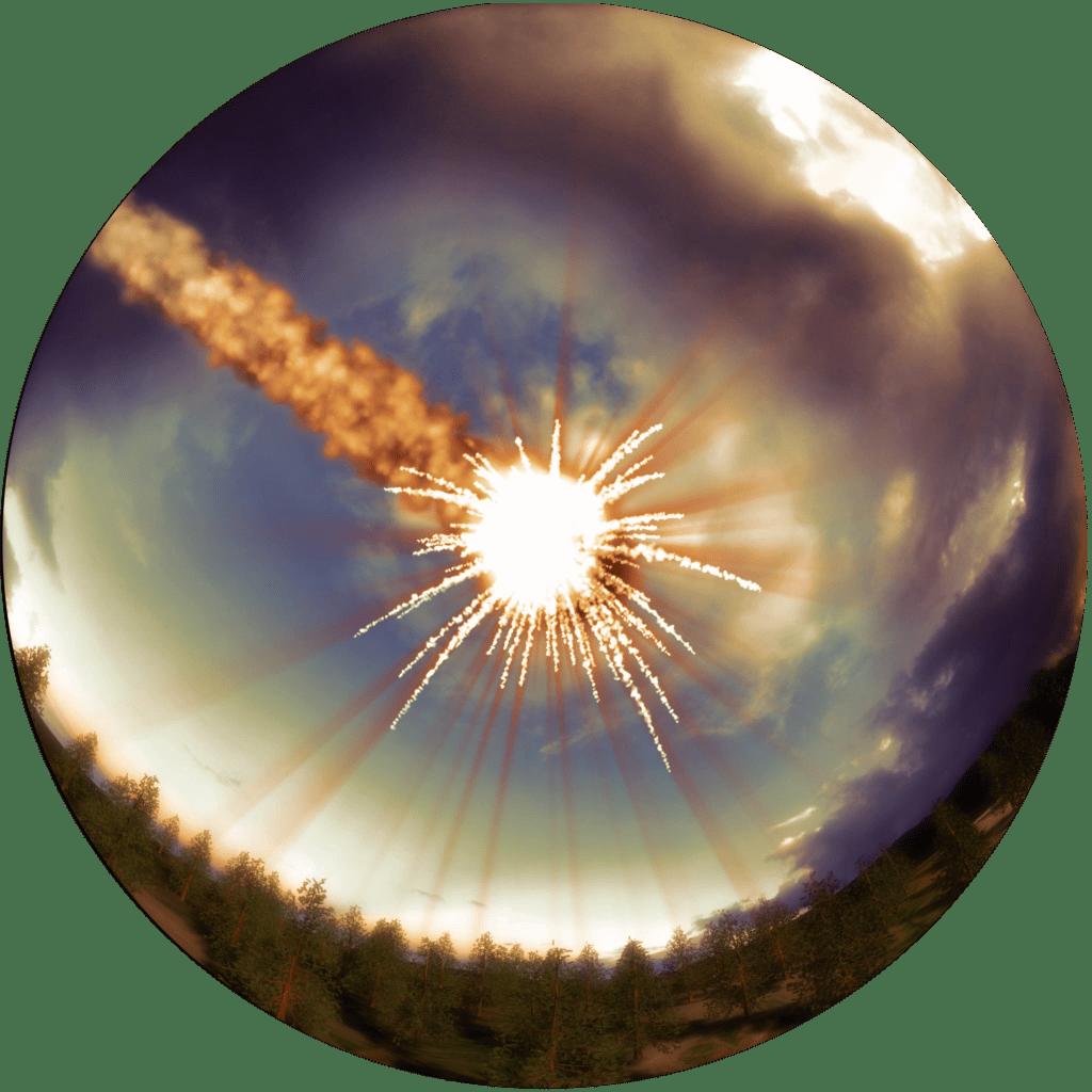 When Comet blasted over Tunguska