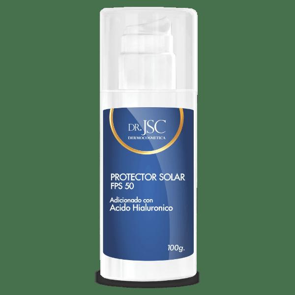 Protector solar con ácido hiauluronico