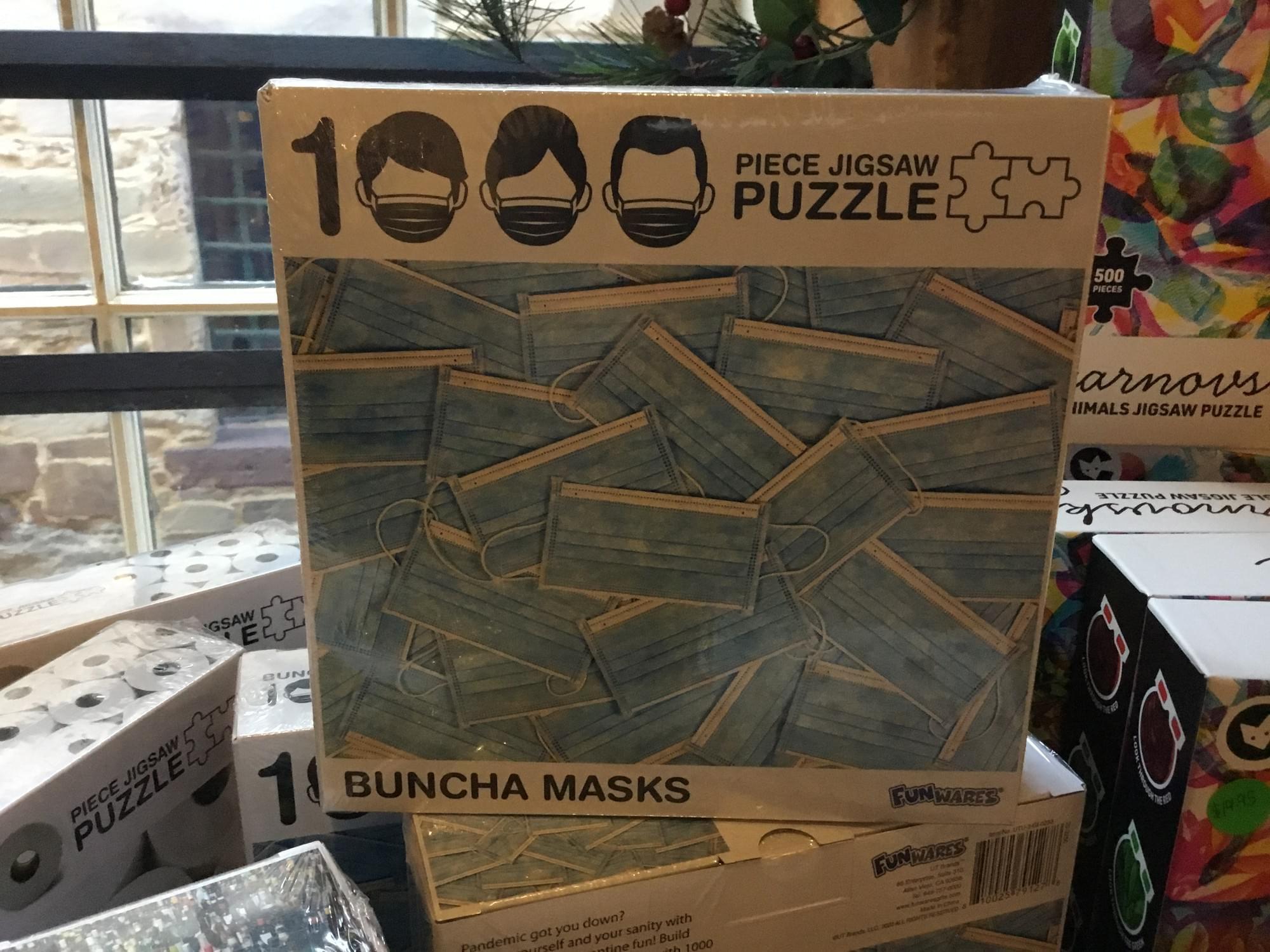 Buncha Masks Puzzle