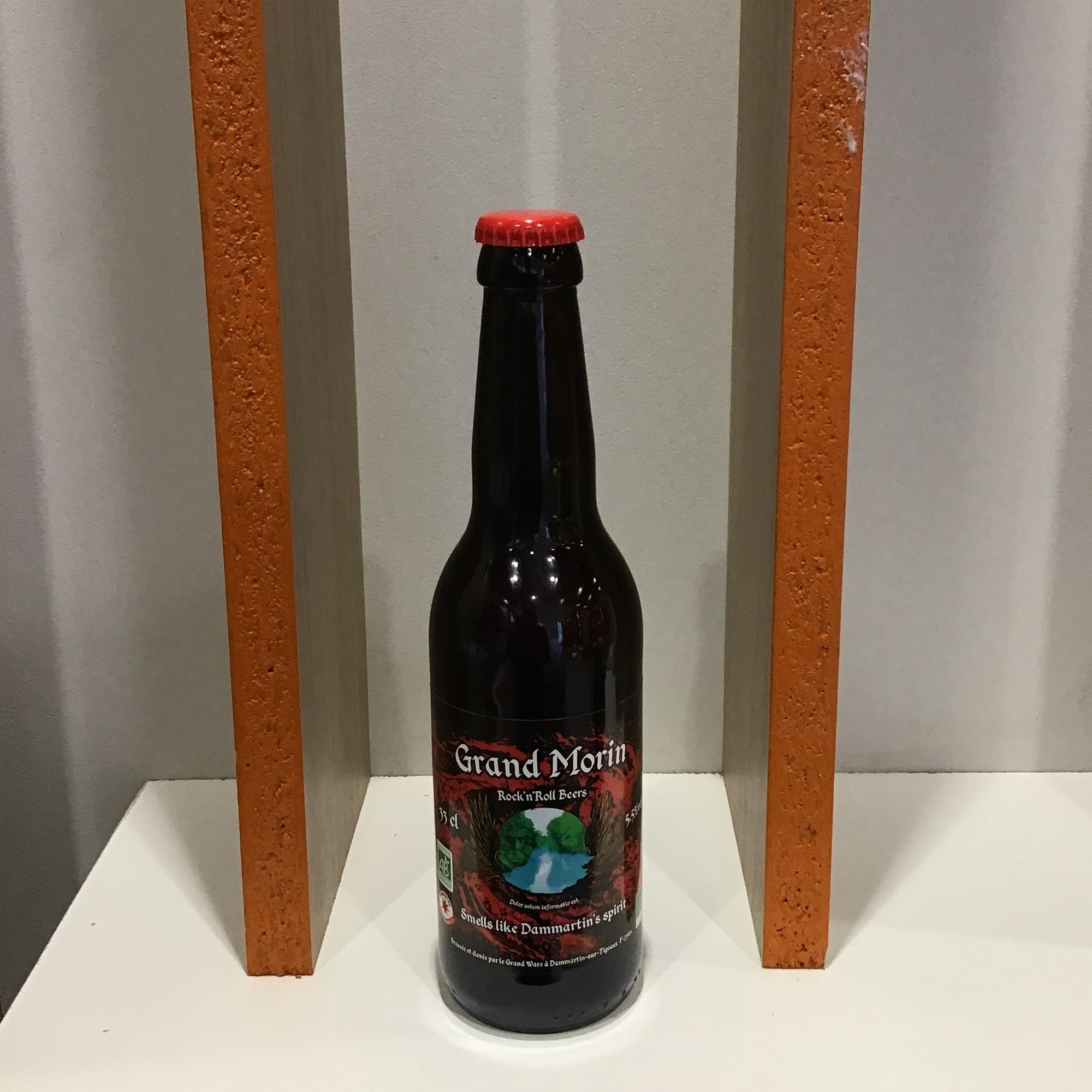 Bière BIO ambrée - Brasserie du Pont de Coude - 33 cL