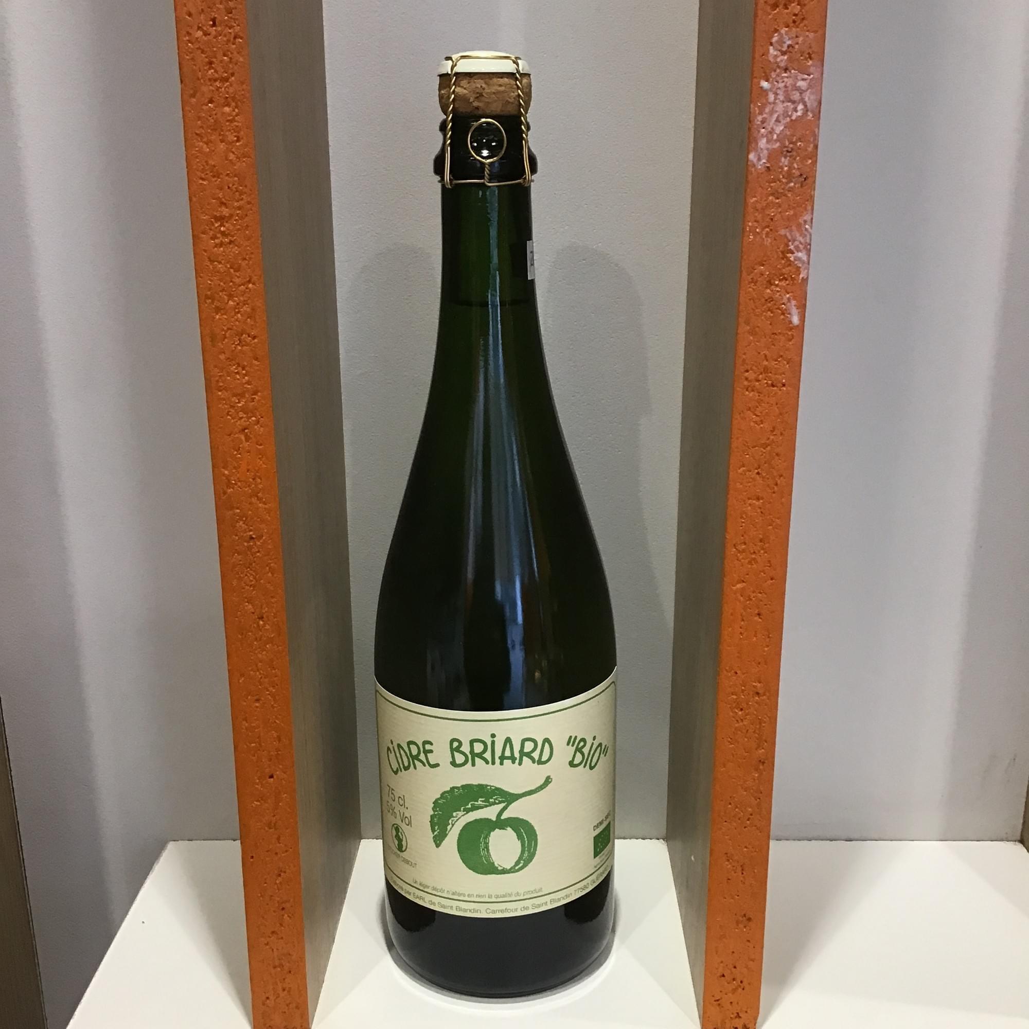 Cidre BIO brut - EARL Saint Blandin