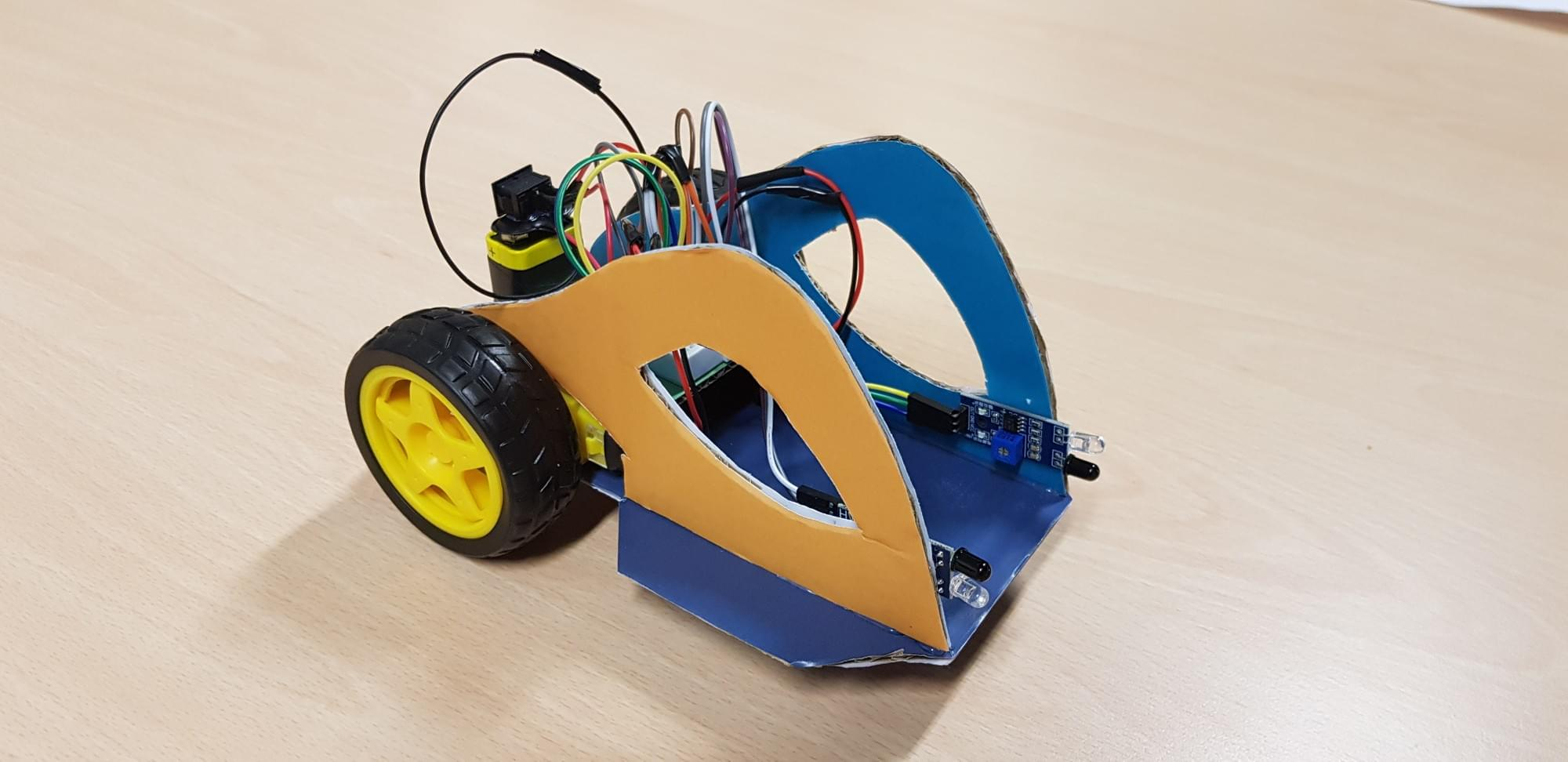 Evo! Robot Car DIY Evolutif