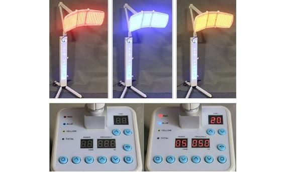 7 light red blue yellow green LED lights Therapy machine