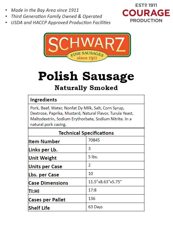 Polish Sausages