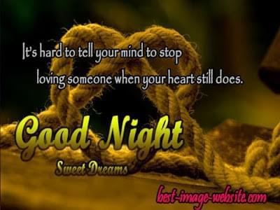 Good Night Heart Image on Strikingly