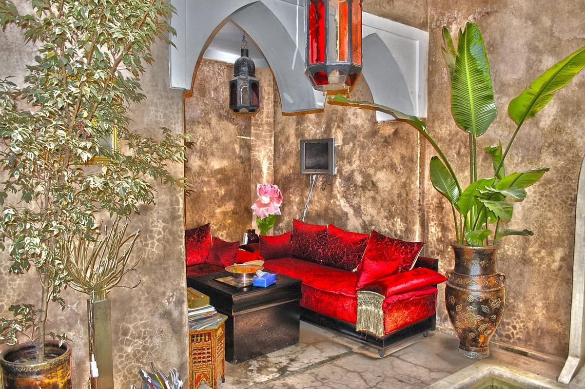 Living-room in Morocco Design