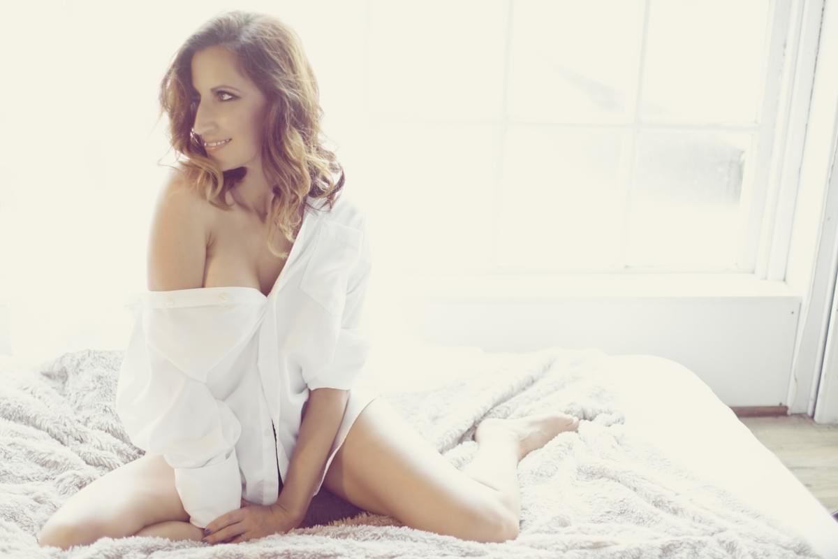 white shirt photo, boudoir, Louisiana